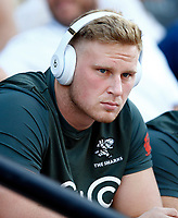 Jean-Luc du Preez of the Cell C Sharks during the Super rugby match between the Cell C Sharks and the Emirates Lions at Jonsson Kings Park Stadium in Durban, South Africa 30 March 2019. Photo: Steve Haag / stevehaagsports.com