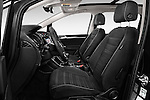 Front seat view of 2016 Volkswagen Touran Highline 5 Door Mini Mpv Front Seat car photos