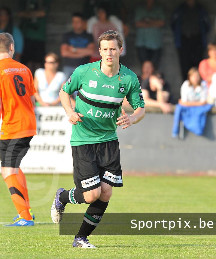 KSV Cercle Brugge : Brecht Van Der Beke.foto VDB / BART VANDENBROUCKE