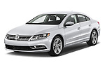 2017 Volkswagen CC Sport 4 Door Sedan Angular Front stock photos of front three quarter view