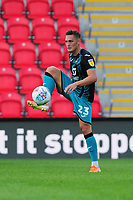 Connor Roberts of Swansea City in action during the pre season friendly match between Exeter City and Swansea City at St James Park in Exeter, England, UK. Saturday, 20 July 2019