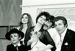 Family Dogg 1965 Mike Hazelwood, Sue Avery, Zooie, Albert Hammond and Steve Rowland.© Chris Walter.