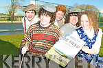 STAGE TIME: Students from Mercy Mounthawk are set to take their school play The Field to Siamsa from the 19th to the 21st of January. Pictured l-r: John O'Donnell, Jack Holland, Cathal O'Donnell, Daragh Kneeshaw and Julianne O'Leary.