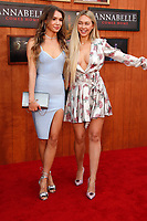 """LOS ANGELES - JUN 20:  Taylor Olympios, Corinne Olympios at the """"Annabelle Comes Home"""" Premiere at the Village Theater on June 20, 2019 in Westwood, CA"""