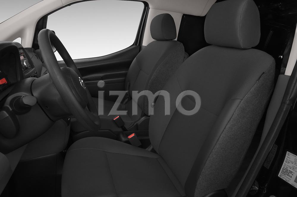 Front seat view of2014 Nissan NV 200 Cargo S 5 Door Van Front Seat car photos