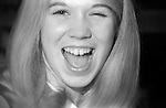 Blonde Peggy in 1972(?) with a wink and a laugh. Very pretty and spontaneous.