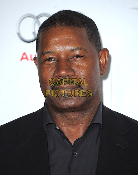 Dennis Haysbert.at The AFI FEST 2012 Hitchcock Gala Screening held at The Grauman's Chinese Theatre in Hollywood, California, USA, November 1st 2012..portrait headshot  black grey gray shirt moustache mustache facial hair .CAP/RKE/DVS.©DVS/RockinExposures/Capital Pictures.