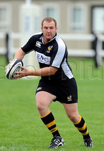 Wasps Media Day 17th August 2010.England International prop Tim Payne