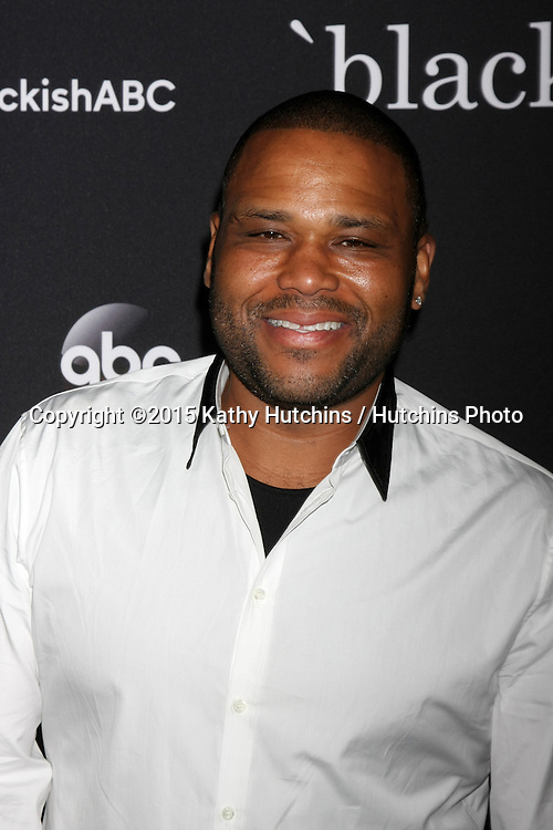 """LOS ANGELES - FEB 17:  Anthony Anderson at the """"Black-ish"""" ATAS event at the Silver Screen Theater at Pacific Design Center on April 17, 2015 in Los Angeles, CA"""