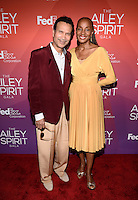 NEW YORK, NY - JUNE 11: Khephra Burns And Susan B. Taylor  pictured at the 'Ailey Spirit Gala Benefit at the David H. Koch Theater , New York City ,June 11, 2014 © HP/Starlitepics.