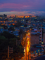 Manila, Philippines Dramatic sunset and sky over Manila, Philippines