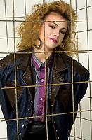 FILE PHOTO : Martine saint-Clair<br /> <br /> , circa 1985<br /> <br /> <br /> PHOTO : Harold Beaulieu<br />  - Agence Quebec Presse