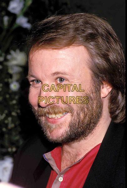 BJORN ULVAES - ABBA.Ref: 026.beard, smiling, headshot, portrait.www.capitalpictures.com.sales@capitalpictures.com.© Capital Pictures