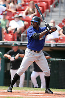 Norfolk Tides Michael Tucker during an International League game at Dunn Tire Park on August 6, 2006 in Buffalo, New York.  (Mike Janes/Four Seam Images)