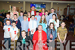 A great day for the pupils og Kilflynn NS as they were confirmed on Thursday in St Bernards Church, Abbeydorney by Fr Tadgh Fitzgerald. they were, Leah Hickey, David Quirke, Jack McKenna, Sinead Coleman, Sarah Corkery, Sean Murnane, Angela Dineen, James Sheehan, Darragh O'Donoghue, Kate Lynch, Eammon Rohan, Declan O'Donoghue, Darragh Murnane, Ryan McElligott, Daniel O'Rourke, Aodhán McKenna and Teacher Deirdre Laide.