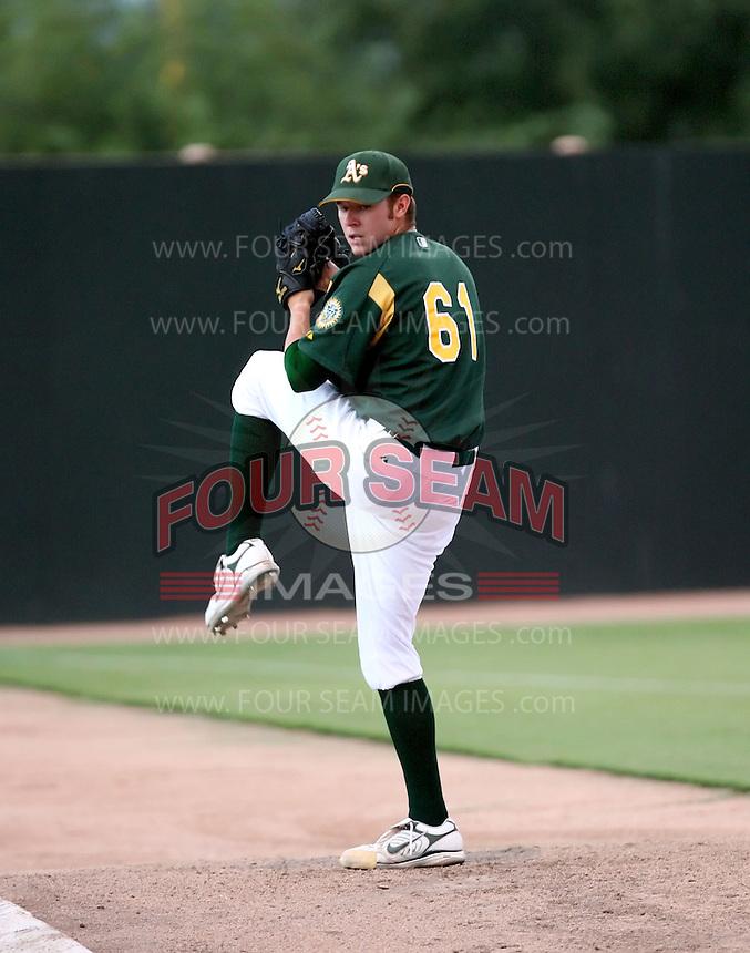 Ryan Doolittle / AZL Athletics..Photo by:  Bill Mitchell/Four Seam Images