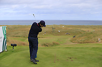 Jorge Campillo (ESP) tees off the par3 14th tee during Thursday's Round 1 of the 2018 Dubai Duty Free Irish Open, held at Ballyliffin Golf Club, Ireland. 5th July 2018.<br /> Picture: Eoin Clarke | Golffile<br /> <br /> <br /> All photos usage must carry mandatory copyright credit (&copy; Golffile | Eoin Clarke)