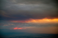 Smoke from wildfires in Colorado. Pueblo County, Colorado. June 2013.  89392