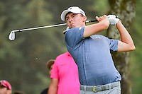 Matt Fitzpatrick (ENG) watches his tee shot on 7 during round 3 of the World Golf Championships, Mexico, Club De Golf Chapultepec, Mexico City, Mexico. 3/4/2017.<br /> Picture: Golffile | Ken Murray<br /> <br /> <br /> All photo usage must carry mandatory copyright credit (&copy; Golffile | Ken Murray)