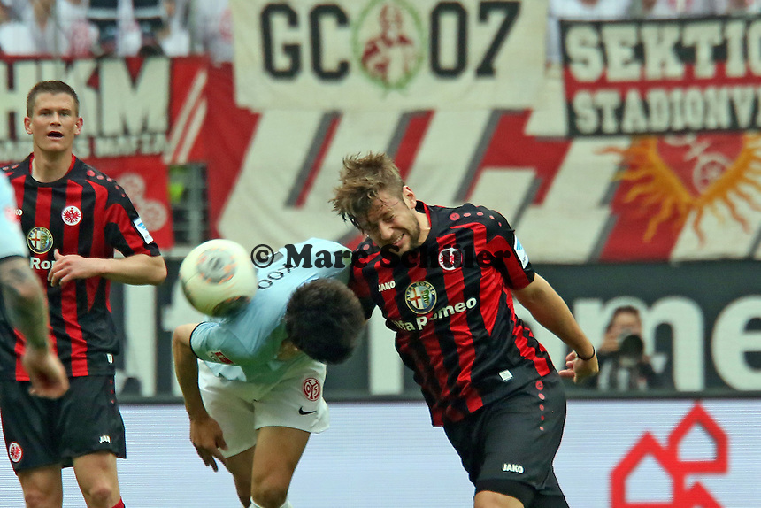 Marco Russ (Eintracht) gegen Ja-Choel Koo (Mainz) - Eintracht Frankfurt vs. 1. FSV Mainz 05