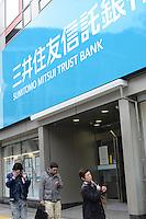 MITSUI SUMITOMO TRUST BANK IN SHIBUYA, TOKYO
