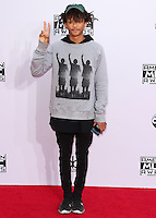 LOS ANGELES, CA, USA - NOVEMBER 23: Jaden Smith arrives at the 2014 American Music Awards held at Nokia Theatre L.A. Live on November 23, 2014 in Los Angeles, California, United States. (Photo by Xavier Collin/Celebrity Monitor)