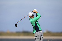 Mark Power from Ireland on the 10th tee during Round 2 Singles of the Men's Home Internationals 2018 at Conwy Golf Club, Conwy, Wales on Thursday 13th September 2018.<br /> Picture: Thos Caffrey / Golffile<br /> <br /> All photo usage must carry mandatory copyright credit (&copy; Golffile | Thos Caffrey)