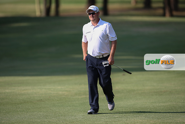 Not the best day at the office for Merrick Bremner (RSA) during Round Three of the Tshwane Open 2015 at the Pretoria Country Club, Waterkloof, Pretoria, South Africa. Picture:  David Lloyd / www.golffile.ie. 14/03/2015