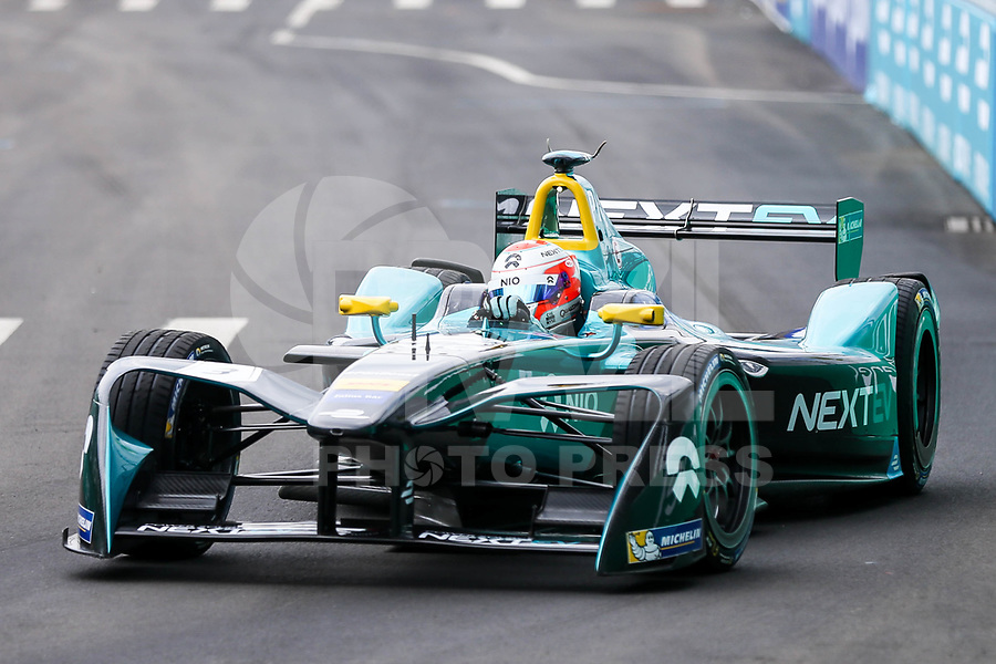 NEW YORK,EUA, 15.07.2017 - FORMULA-E - O piloto brasileiro Nelson Piquet Jr. durante etapa R9 New York City da Qualcomm Formula E no Brooklyn na cidade de New York nos Estados Unidos neste sábado, 15. (Foto: William Volcov/Brazil Photo Press)