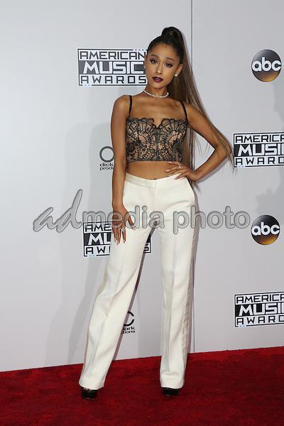 20 November 2016 - Los Angeles, California - Ariana Grande. 2016 American Music Awards held at Microsoft Theater. Photo Credit: PMA/AdMedia
