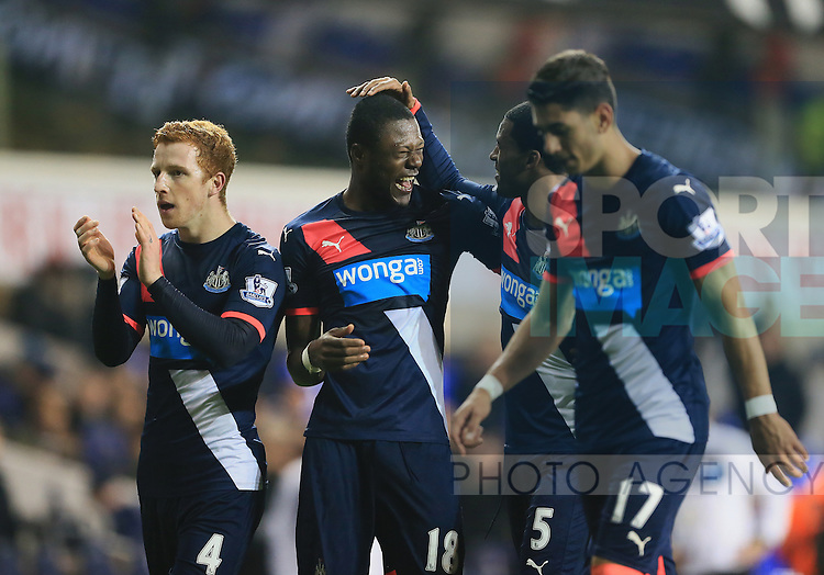 Newcastle's Georginio Wijnaldum celebrates at the final whistle<br /> <br /> Barclays Premier League- Tottenham Hotspur vs Newcastle United - White Hart Lane - England - 13th December 2015 - Picture David Klein/Sportimage