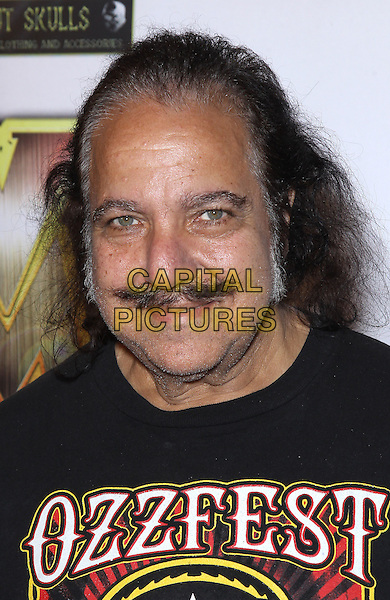 Ron Jeremy<br /> 2013 Vegas Rocks! Magazine Awards at The Joint inside the Hard Rock Hotel and Casino, Las Vegas, NV., USA.<br /> August 25th, 2013<br /> headshot portrait black ozzfest t-shirt moustache mustache facial hair <br /> CAP/ADM/MJT<br /> &copy; MJT/AdMedia/Capital Pictures