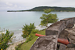 Views of Maluku, Indonesia The Dutch Fort at Ambon.