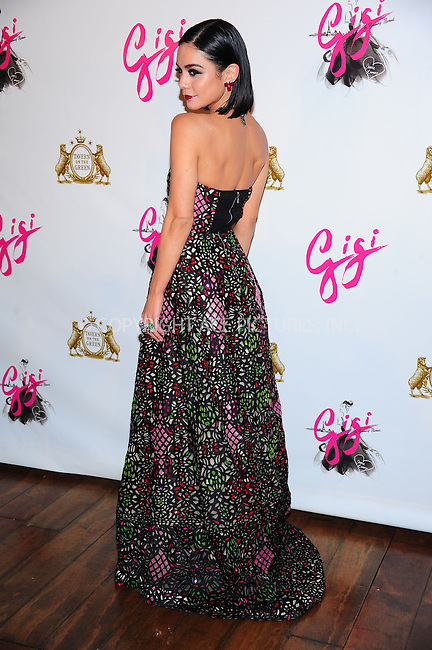 ACEPIXS.COM<br /> <br /> April 8 2015, Nedw York City<br /> <br /> Actress Vanessa Hudgens at the 'Gigi' Broadway Opening Night After Party at the Tavern On The Green on April 8, 2015 in New York City.<br /> <br /> By Line: William Bernard/ACE Pictures<br /> <br /> ACE Pictures, Inc.<br /> www.acepixs.com<br /> Email: info@acepixs.com<br /> Tel: 646 769 0430
