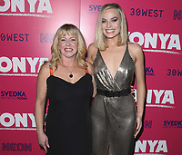 "LOS ANGELES- DECEMBER 5:  Tonya Harding and Margot Robbie at the Los Angeles Premiere of Neon and 30 West's ""I, Tonya""  at the Egyptian Theater on December 5, 2017 in Los Angeles, California. (Photo by Scott Kirkland/PictureGroup)"
