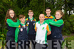 Judo Team L-r Mairead Bennett, Sean Murphy, Aaron O'Brien, Danny Roche, Jack Hanrahan and Cora Joy at the  International Children's Games Press Night at Ballygarry House Hotel on Thursday