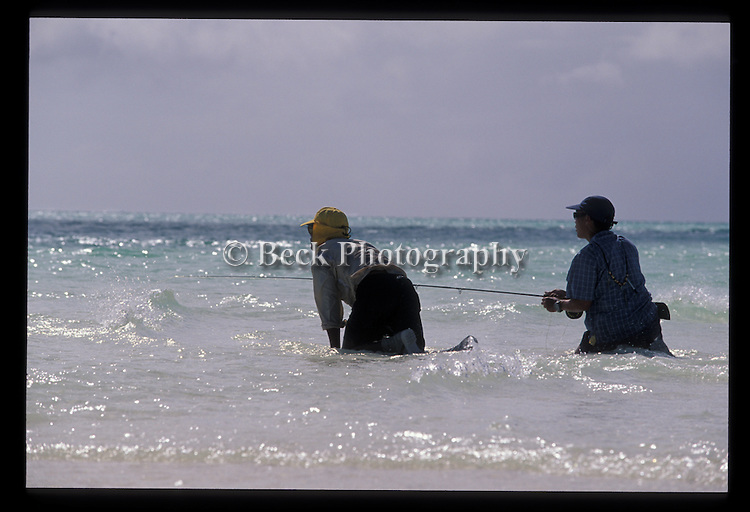 FLY FISHING IN THE WATERS OF CHRISTMAS ISLAND