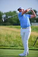 Matthew Wallace (ENG) watches his tee shot on 12 during Thursday's round 1 of the 117th U.S. Open, at Erin Hills, Erin, Wisconsin. 6/15/2017.<br /> Picture: Golffile | Ken Murray<br /> <br /> <br /> All photo usage must carry mandatory copyright credit (&copy; Golffile | Ken Murray)