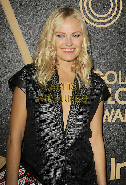 Malin Akerman.The Hollywood Foreign Press Association And InStyle Miss Golden Globe 2013 Party held at Cecconi's Restaurant, West Hollywood, California, USA, 29th November 2012..half length black short sleeve jacket blazer pregnant .CAP/ADM/KB.©Kevan Brooks/AdMedia/Capital Pictures.