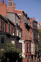 Beacon Hill brownstone homes Boston MA