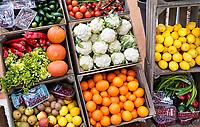 Nederland - Amsterdam - Januari 2020. HORECAVA. Kistjes met diverse groenten en fruit. . Foto Berlinda van Dam / Hollandse Hoogte