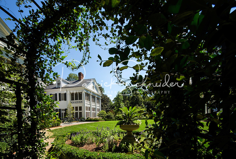 Photography of the historical Duke Mansion in Charlotte, North Carolina. Exterior views of the Duke Mansion built in 1915 and listed on the National Register of Historic Places. The mansion most famous owner James Buchanan Duke. The mansion is now operated as a non profit.<br /> <br /> <br /> Charlotte Photographer - PatrickSchneiderPhoto.com