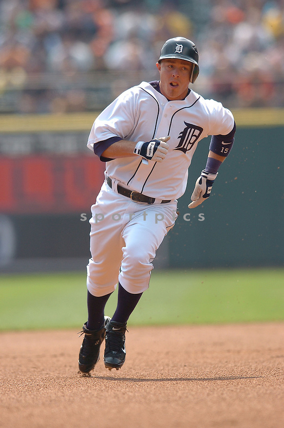 BRANDON INGE, of the Detroit Tigers  , in action during the TIgers game against the Baltimore Orioles on May 2, 2007 in Detroit, Tigers...Tigers win 5-4...Chris Bernacchi/ SportPics..