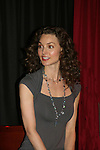 All My Children - Alicia Minshew performs for theifans on November 22, 2008 with photos, meet and greet and Q and A at the Brokerage Comedy Club and Vaudeville Cafe in Bellmore, New York. (Photo by Sue Coflin/Max Photos).