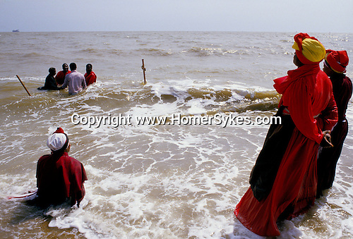 MOUNT ZION SPIRITUAL BAPTIST CHURCH OUTING TO FELIXSTOWE FOR BAPTISIM IN THE SEA,