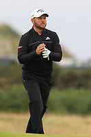Jordan Smith (ENG) on the 14th fairway during Round 4 of the Alfred Dunhill Links Championship 2019 at St. Andrews Golf CLub, Fife, Scotland. 29/09/2019.<br /> Picture Thos Caffrey / Golffile.ie<br /> <br /> All photo usage must carry mandatory copyright credit (© Golffile | Thos Caffrey)