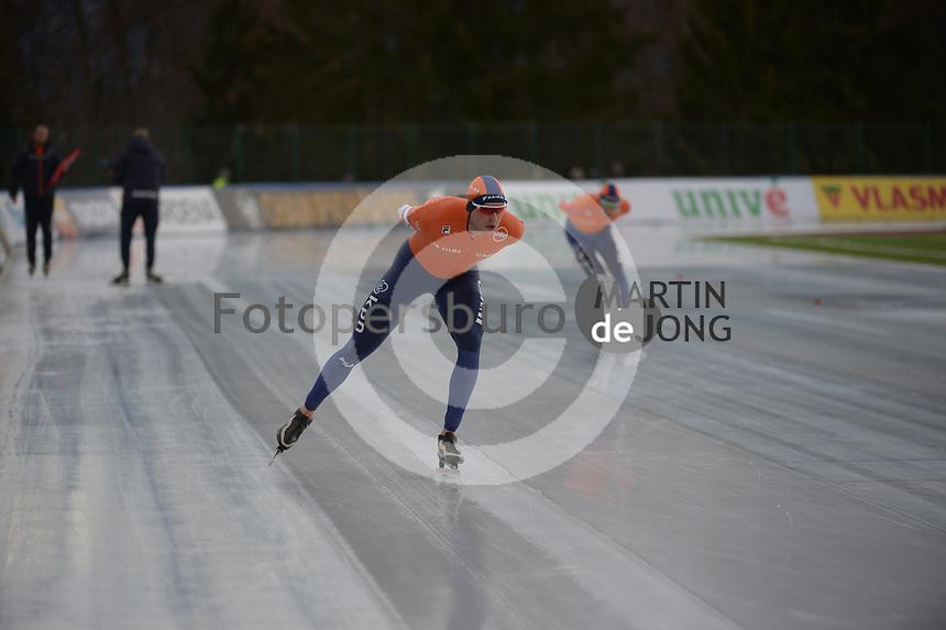 SPEED SKATING: COLLALBO: Arena Ritten, 13-01-2019, ISU European Speed Skating Championships, European Champions Allround Sven Kramer (NED), ©photo Martin de Jong