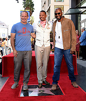 HOLLYWOOD - SEPTEMBER 24: (L-R) Dito Montiel, Terrence Howard and Malcolm D. Lee attend the Hollywood Walk of Fame ceremony for Terrence Howard on September 24, 2019 in Hollywood, California. (Photo by Frank Micelotta/Fox/PictureGroup)