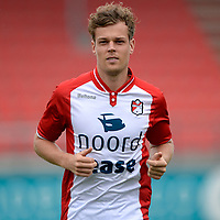 EMMEN - Voetbal, Presentatie FC Emmen, Jens vesting, seizoen 2017-2018, 24-07-2017, FC Emmen speler Jeroen Veldmate