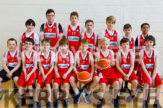 Blennerville National School attending the CBS Hoops Basketball bliz in the John Mitchels complex on Friday morning last.<br /> Seated l-r, Conor Daly, Rory Kelliher, Mark O&rsquo;Brien, Sean Whelan, William O&rsquo;Donoghue, Zack Howard, Oran Tobin and Eddie Stack.<br /> Standing l-r, Roddy Clifford, Mark Kelly, Callum Houston, James Dowling, Callum Hayes, Daniel Sheehy and Fionn Dairo.